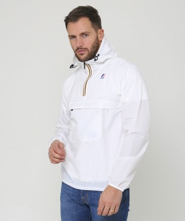 K-Way Men's Water Resistant Half-Zip Le Vrai Leon 3.0 Jacket