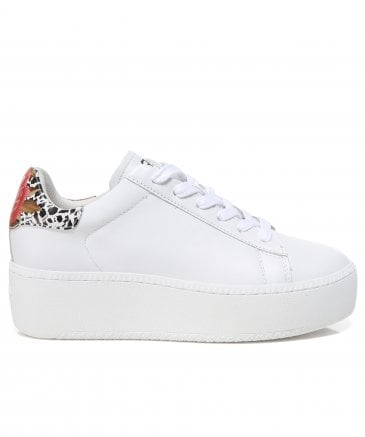 Ash Women's Leather Cult Flatform Trainers