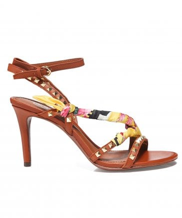 Ash Women's Leather Heidi Heeled Sandals