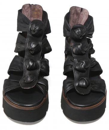 Lofina Women's Leather Knotted Sandals