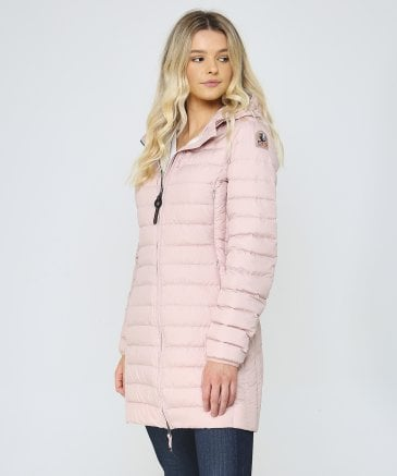 Parajumpers Women's Irene Mid Length Hooded Quilted Jacket