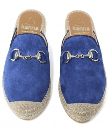Kanna Women's Ante Suede Sliders