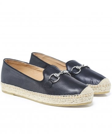 Kanna Women's Seta Leather Loafers