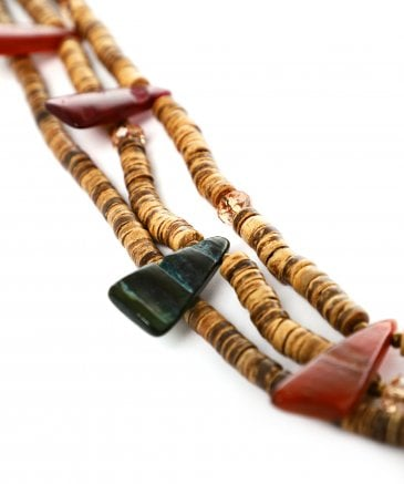 Zen Jewellery Women's Long Multi Strand Beaded Necklace
