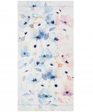 Ahujasons Women's Watercolour Floral Print Scarf