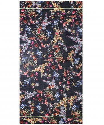 Ahujasons Women's Floral Print Scarf