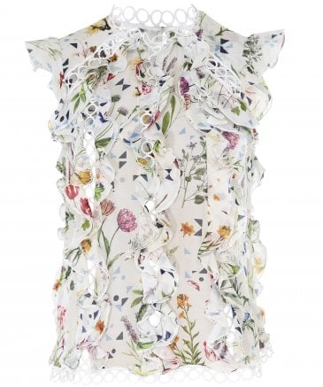 High Women's Seduce Floral Blouse