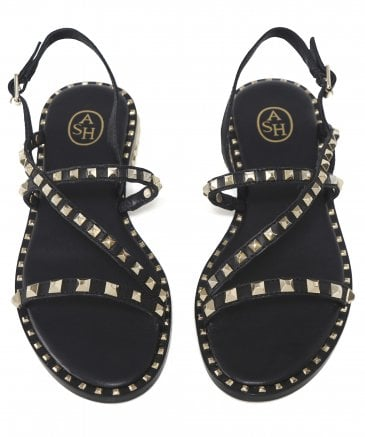 Ash Women's Leather Peace Studded Sandals