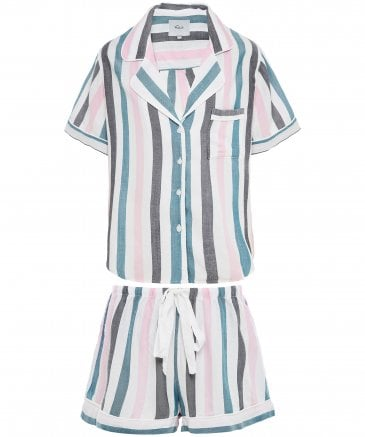 Rails Women's Striped Short Pyjama Set