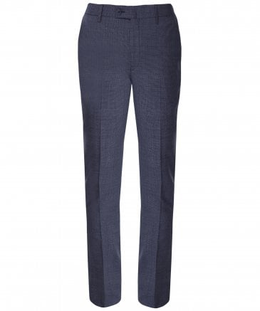 Mouliné Wool Puppytooth Trousers