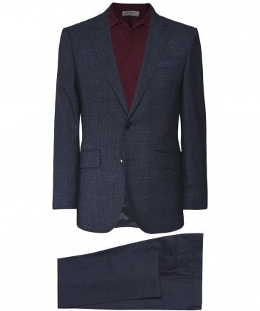 Wool Glen Check Suit