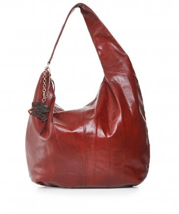 Tommy Hilfiger Women's Zendaya Leather Hobo Bag