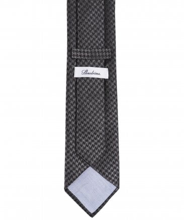 Stenstroms Men's Silk Houndstooth Tie