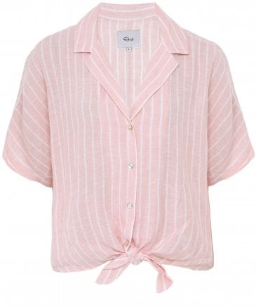 Rails Women's Linen Blend Marley Stripe Shirt