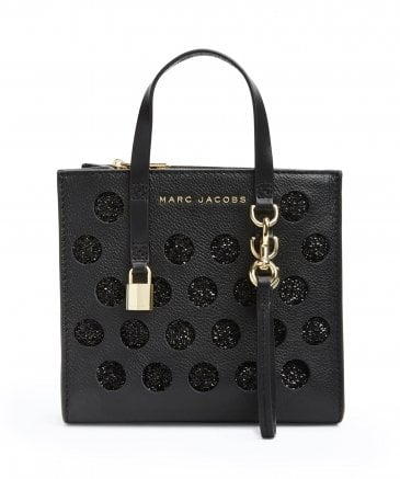 Marc Jacobs The Mini Grind Perforated Leather Tote Bag