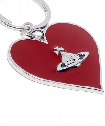 Vivienne Westwood Accessories Women's Mirror Heart Keyring
