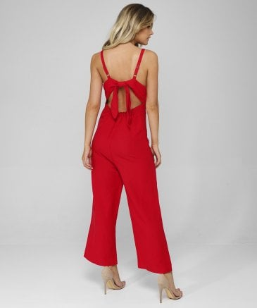 Rails Women's Teresa Linen Blend Wide Leg Jumpsuit