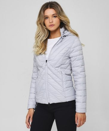 Barbour Women's Rowlock Hooded Quilted Jacket