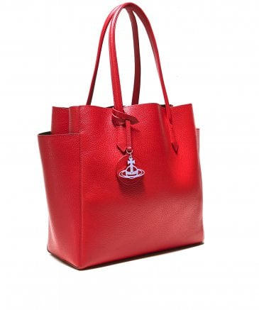 Vivienne Westwood Women's Rachel Large Leather Shopper Bag
