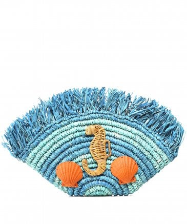 Aranaz Women's Merida Woven Clutch Bag