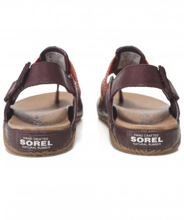 Sorel Women's Leather Out 'N About Plus Sandals