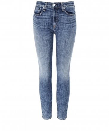 Rag and Bone Women's Cate Mid-Rise Skinny Jeans