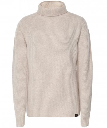 Belstaff Women's Virgin Wool Harbour Funnel Neck Jumper