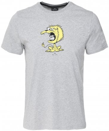 PS by Paul Smith Men's Organic Cotton Lion T-Shirt