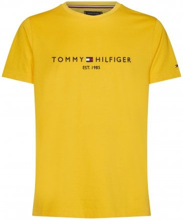 Tommy Hilfiger Men's Organic Cotton Logo T-Shirt