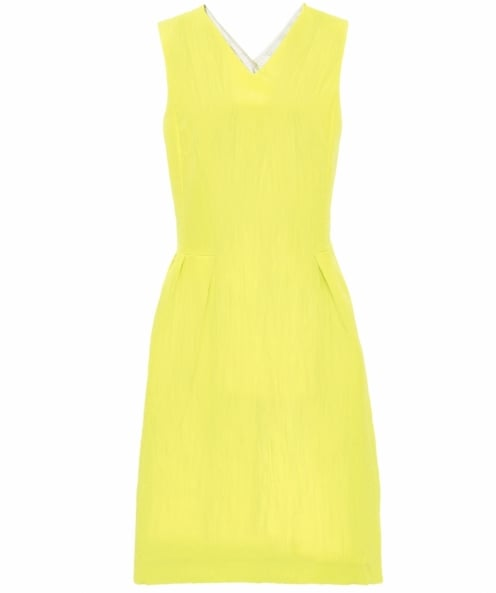 PS by Paul Smith Cross Back Pleated Dress