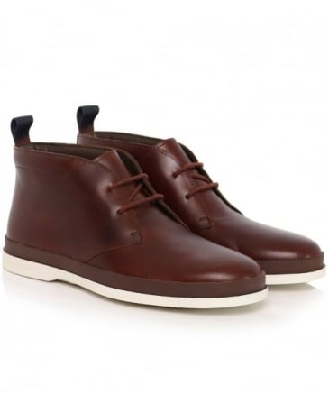 Leather Inkie Chukka Boots