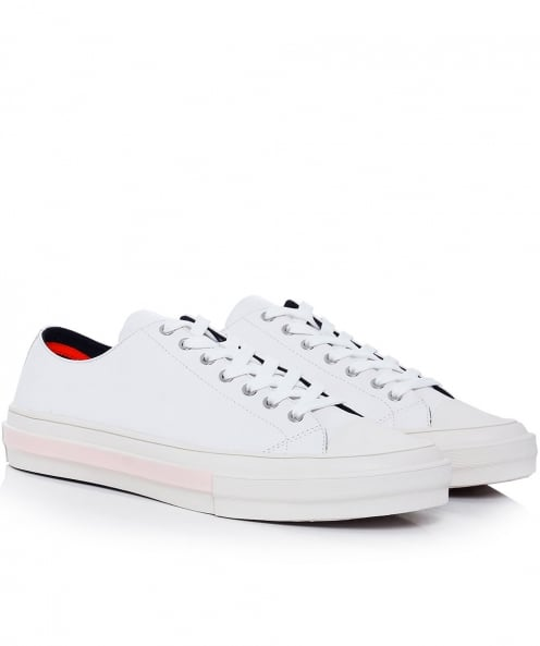 PS by Paul Smith Leather Mono Luxe Kinsey Trainers