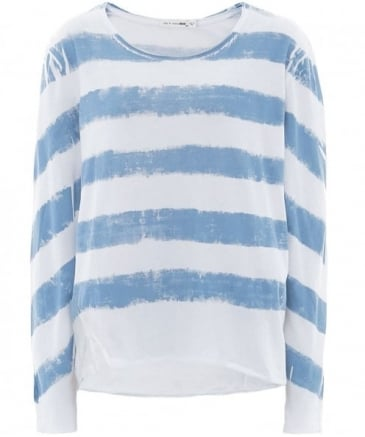Washed Stripe Box Fit Top