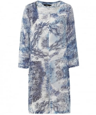 Linen Willow Pattern Tunic