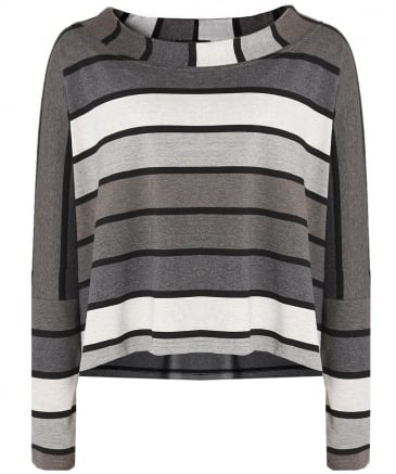 Oversized Ale Striped Top