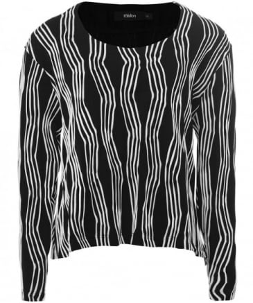 Wave Stripe Amira Top