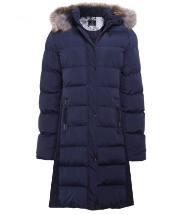 Cendy Fur Trim Puffer Coat