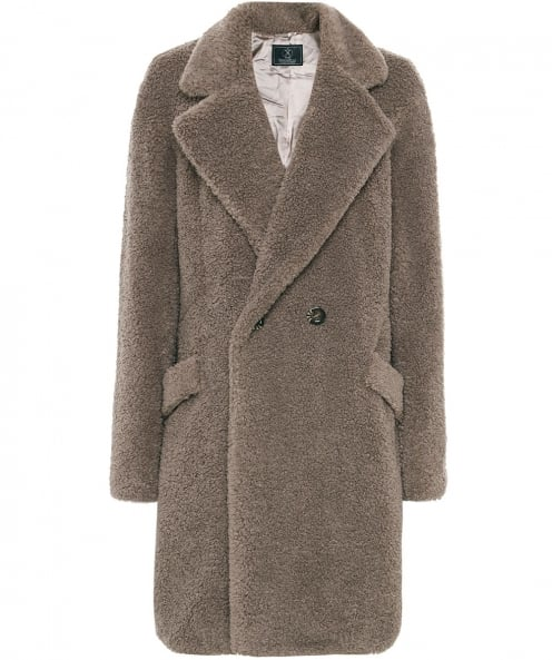 Rino and Pelle Faux Fur Teddy Coat