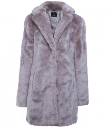 Tylia Faux Fur Easy Coat