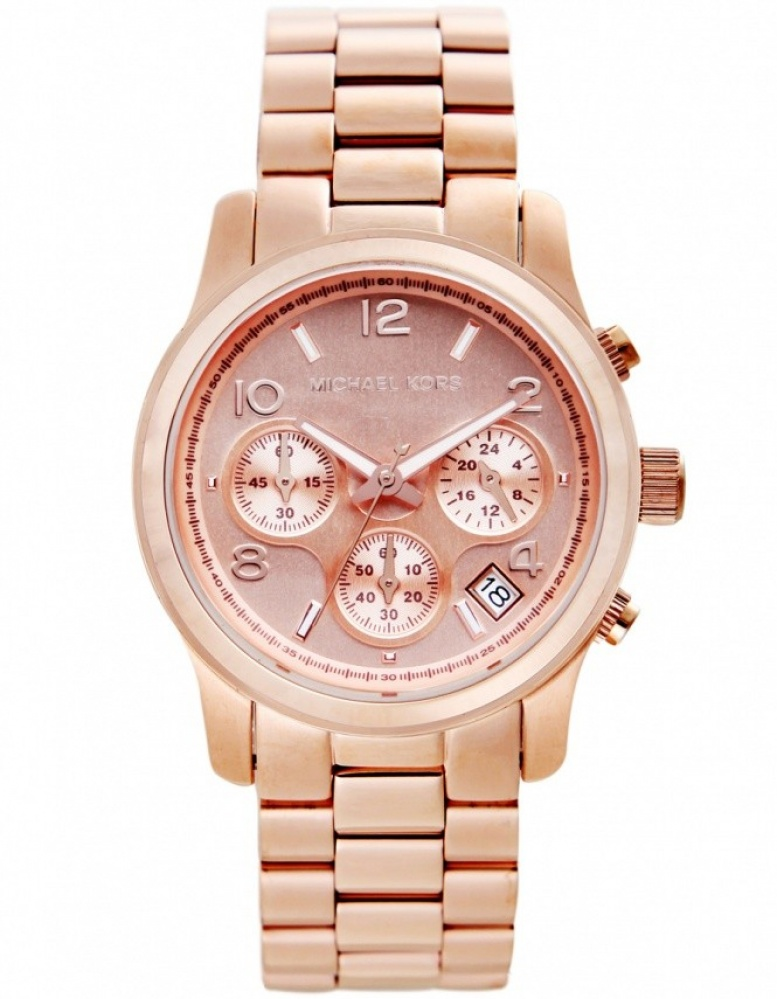 Rose Gold Watch Michael Kors Chronograph Michael Kors Watches Rose Gold