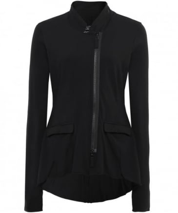 Jersey Zip Through Jacket