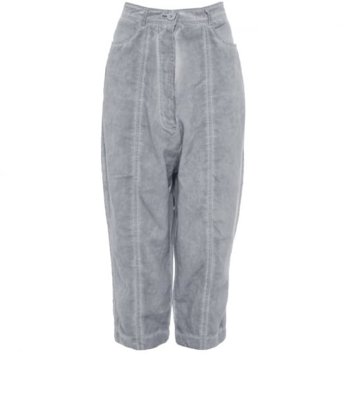 Rundholz Linen Cropped Trousers