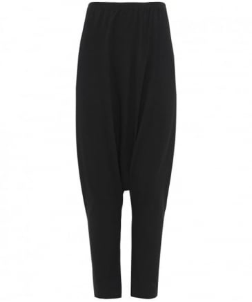 Low Crotch Jersey Trousers