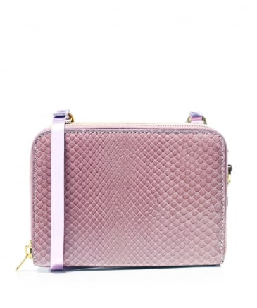 Albert Double Zip Crossbody Bag