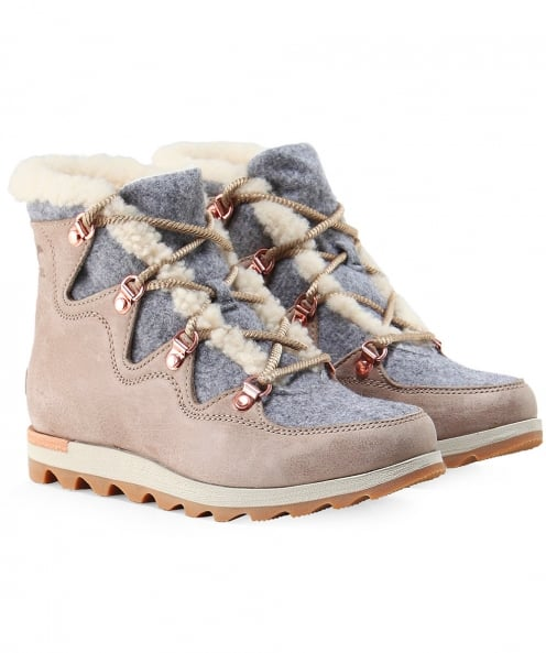 Sorel Suede Sneakchic Alpine Holiday Boots