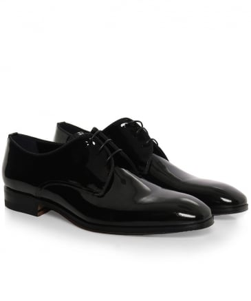 Patent Leather Scala Derby Shoes
