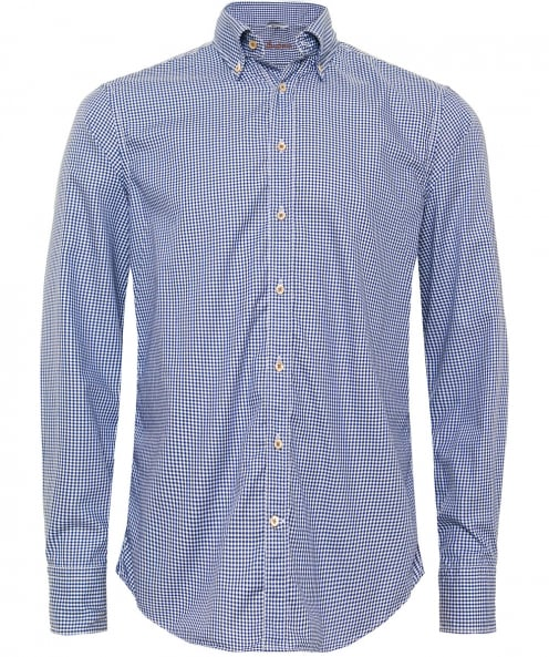 Stenstroms Fitted Checked Shirt