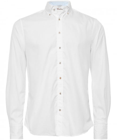 Stenstroms Fitted Cotton Shirt