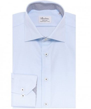 Fitted Fine Pattern Shirt