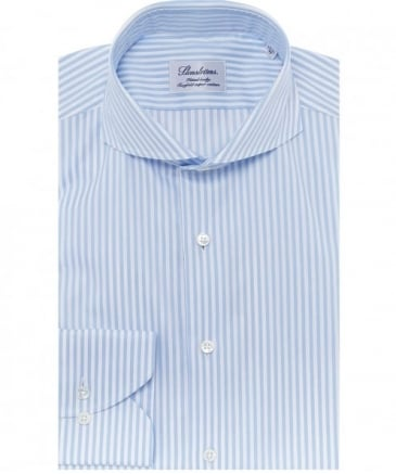 Fitted Pinstripe Shirt